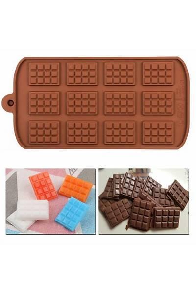 Minik Tablet Çikolata Kalýbý
