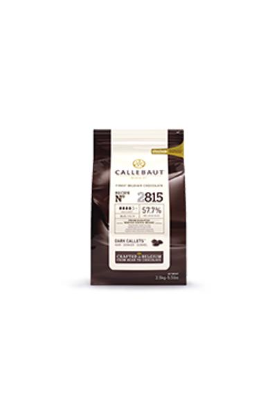 Callebaut Bitter Kuvertur Drop (4 Damla) %57.7 Akýþkan 2,5 KG
