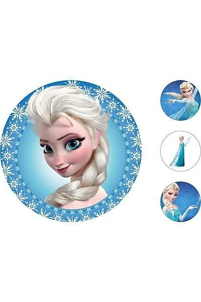 Elsa Pasta Kurabiye Üstü Resim
