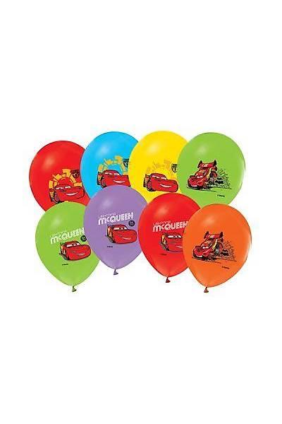 Cars Baskılı Latex Balon 5ad