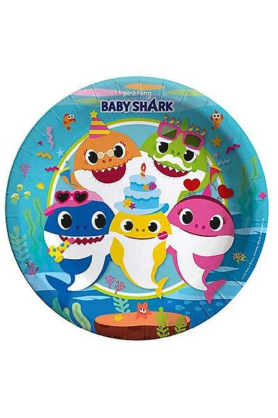 Baby Shark Tabak 8 adet
