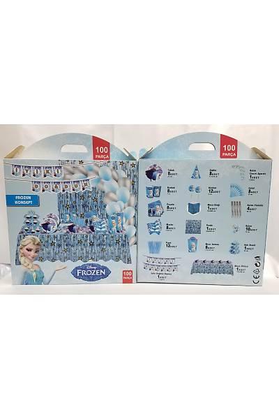 Frozen Karlar Ülkesi Konsept Set 100 parça 8 Kiþilik