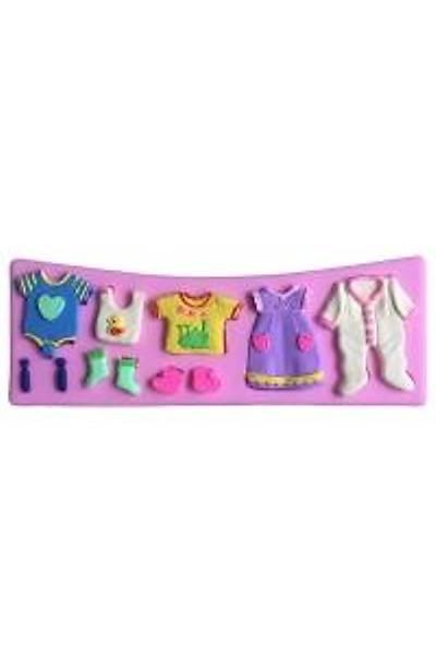 Bebek Elbiseleri  Sabun Kalıbı