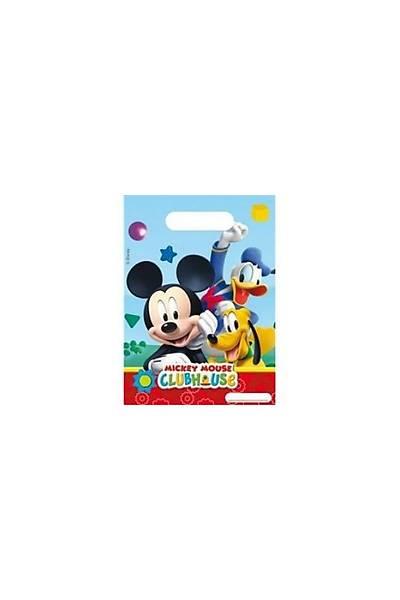 Mickey Mouse Parti Poþeti 6 Ad.