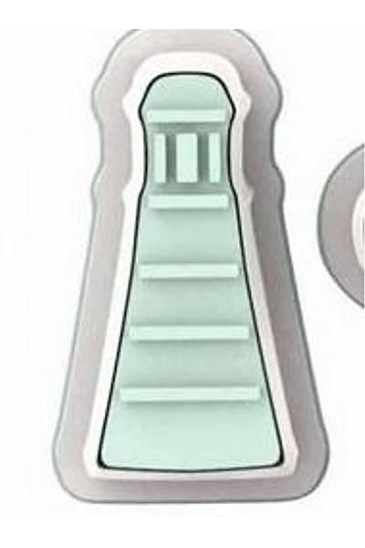 Deniz Feneri Kurabiye Þeker Hamuru Kalýbý