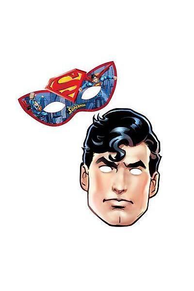 Superman  Maske 6 adet