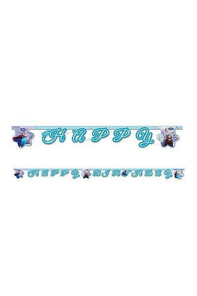 Frozen Happy Birthday Yazý