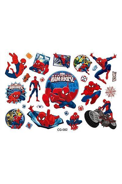 Spiderman Sticker Baskı