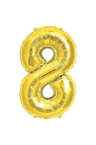 8 Yaş Altın Balon