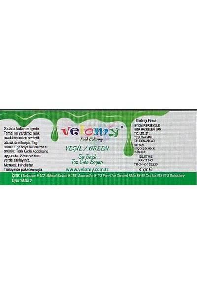 Yeşil Renk Toz Gıda Boyası 4 gr