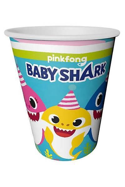 Baby Shark Bardak 8 adet