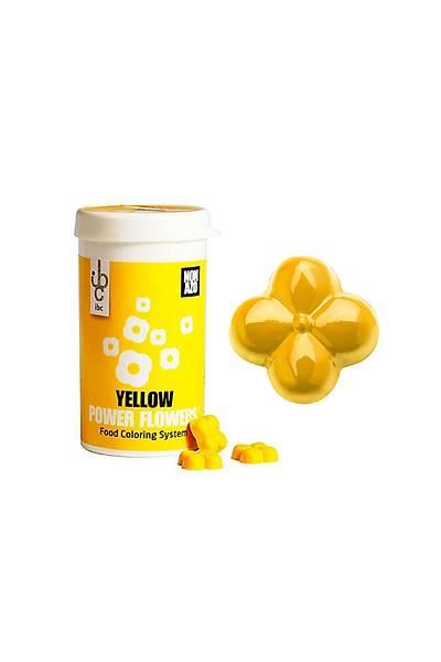 Yellow Power Flowers Sarý Çikolata Boyasý 50 gr
