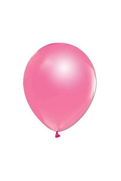 Fuşya Metalize Balon