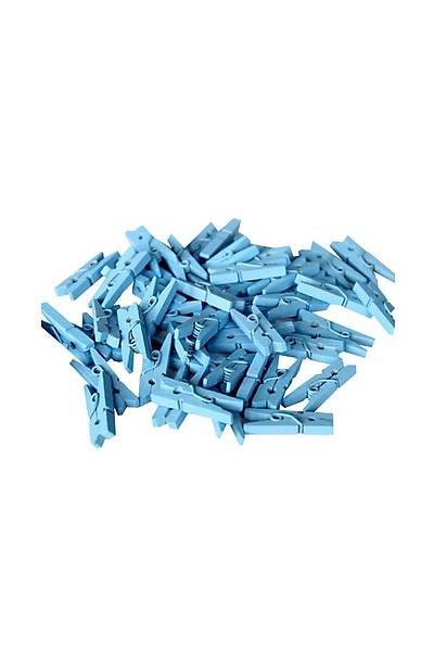 Mavi Dekoratif Mini Mandal 10 Ad.