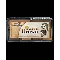 WARM BROWN  HAIR PALETTE