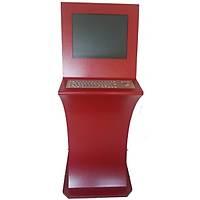 17 inç Çelik Klavyeli Dokunmatik Ekran Kiosk Fiyatý