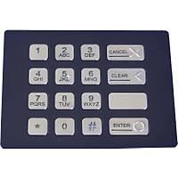 K-TEK-B124KP-BL-BT Çelik Bankamatik USB Tuþ Takýmý Türkçe Satýþ Fiyatý