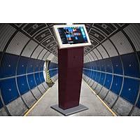22'' Dokunmatik Ekran Kiosk Full HD Dikey Model Özel Tasarým