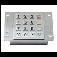 Şifreli Metal Tuş Takımı ( Paslanmaz Encrypt Pin Pad )
