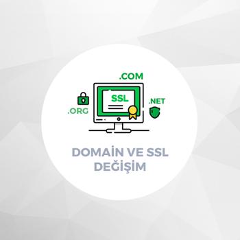 Domain ve SSL Deðiþim Bedeli