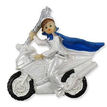 Motosikletli Sünnet Çocuðu Biblo