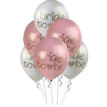 Bride To Be Balon 12 inc – 30 cm 100 Adet