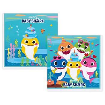 Baby Shark Temalý Peçete  16'lý