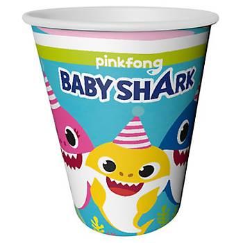 Baby Shark Bardak 8'li