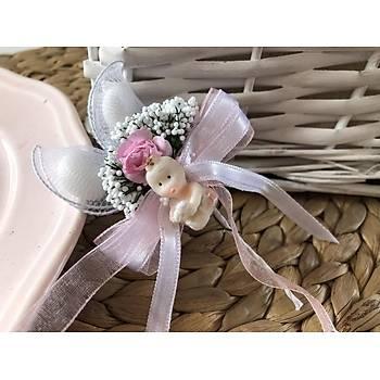 Mini Çiçekli ve Biblolu Bebek Þekeri
