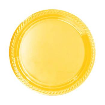 Sarý Plastik Tabak 25'li