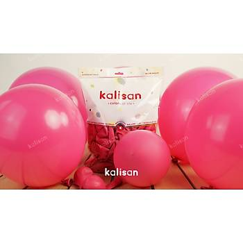 Koyu Pembe Dekorasyon Balonu 12 inc – 30 cm 50 Adet