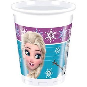 Lisanslý Frozen Elsa Plastik Bardak 8'li