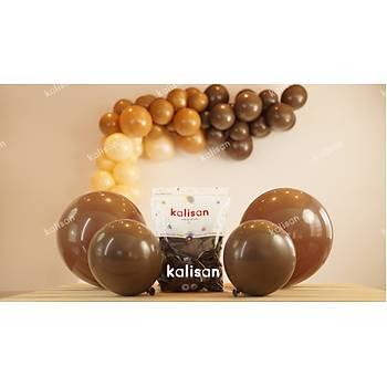 Çikolata Kahve Dekorasyon Balonu 12 inc – 30 cm 100 Adet