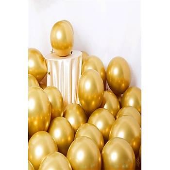 Gold Krom Balon 40 cm - 50 Adet