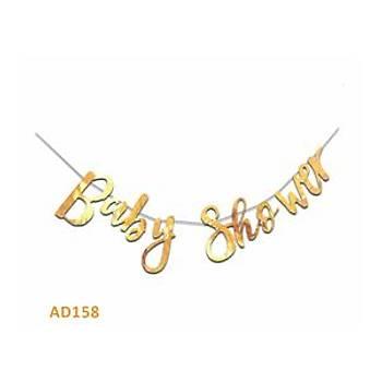 Gold Baby Shower Yazýsý