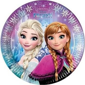 Frozen Elsa Lisanslý Karton Tabak 8'li