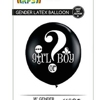 Cinsiyet Balonu - 18 Ýnc