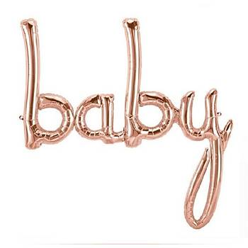 Rose Baby Folyo Balon 83 cm