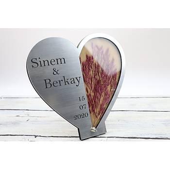 Kalp Metal Masaüstü Ýsimlik