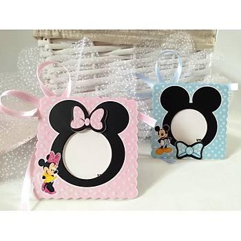 Minnie - Mickey Mouse Çerçeve Bebek Þekeri