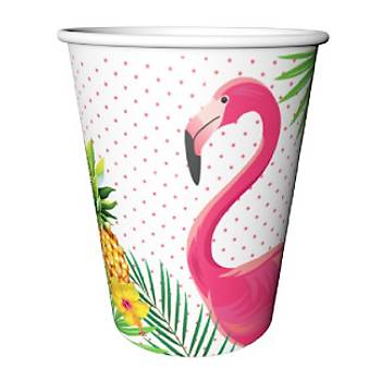 Flamingo Karton Bardak 8'li