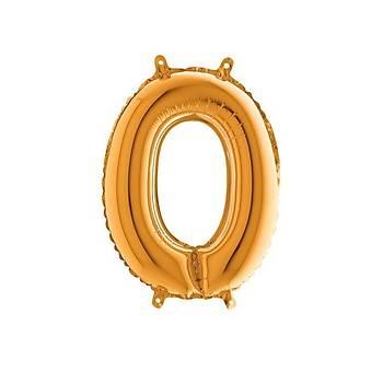 O Harfi Gold Renk Folyo Balon 60cm