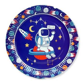 Uzay Karton Tabak 8'li