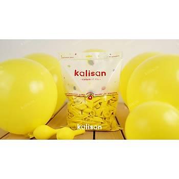 Sarý Dekorasyon Balonu 12 inc – 30 cm 50 Adet