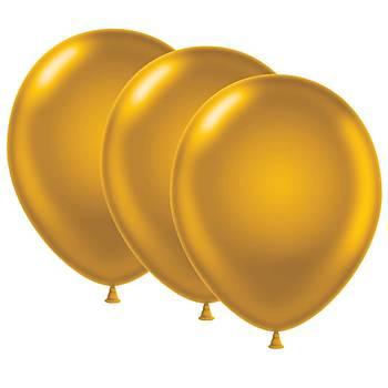 Gold Metalik Balon - 100 Adet
