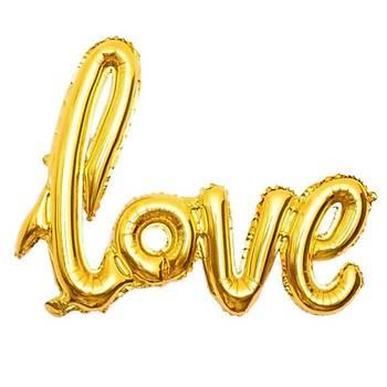 Gold Love Folyo Balon 50 cm