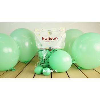 Mint Yeþili Dekorasyon Balonu 12 inc – 30 cm 50 Adet