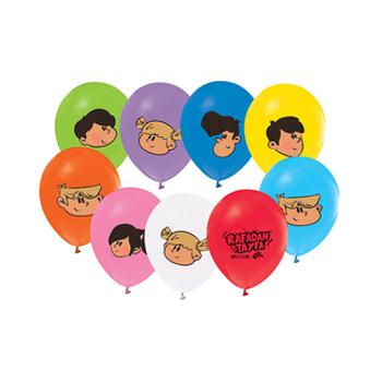 Rafadan Tayfa Baskýlý Balon – 30 cm 10 Adet