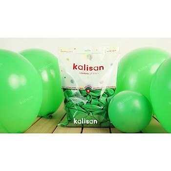 Çim Yeþili Dekorasyon Balonu 12 inc – 30 cm 100 Adet