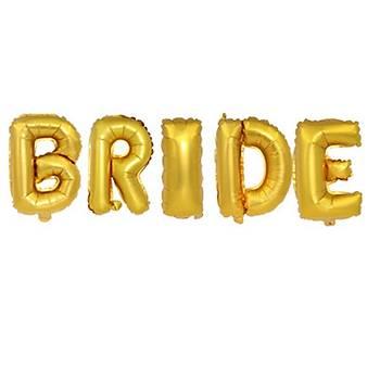 Gold Bride Folyo Balon Seti 34